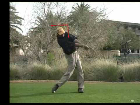 Golf Lessons Video Weight on Front Foot