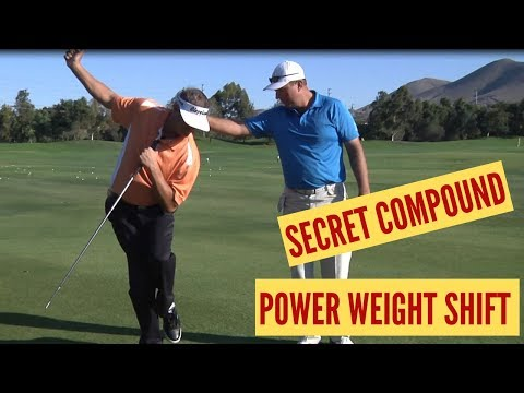 The Most Powerful Weight Shift and Hip Turn in Golf!