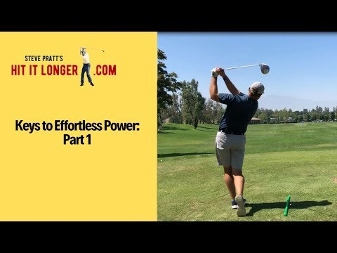 3 Tips for Effortless Power in Your Golf Swing!