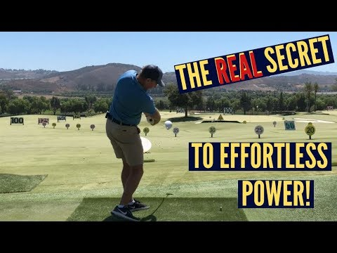 The REAL Secret to Effortless Power in Your Golf Swing!