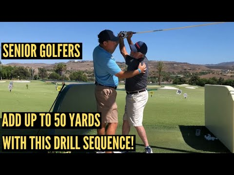 Best Driver Swing Drills for Senior Golfers!