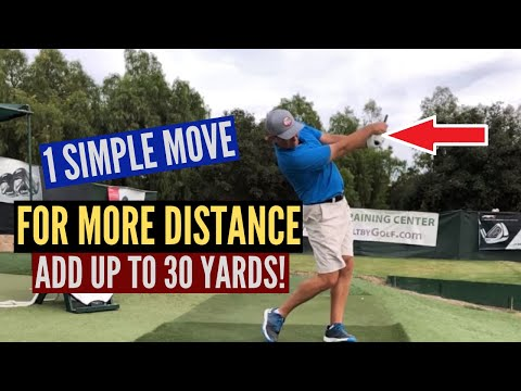 Add Up To 30 Yards Off the Tee With 1 Simple Move!