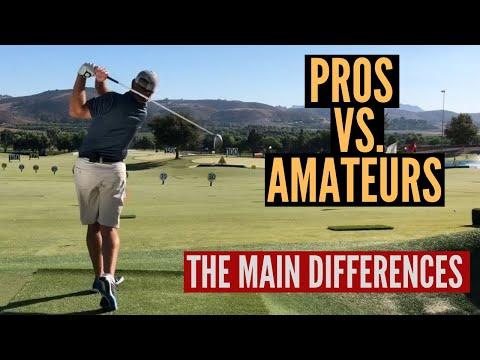Pros Vs. Amateurs – The Differences in their Golf Swings