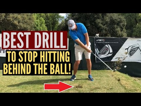 Best Drill to Stop Hitting Behind the Golf Ball!