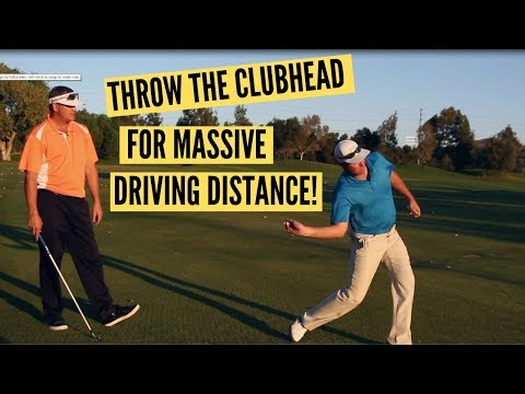 Throw the Clubhead for Longer Drives