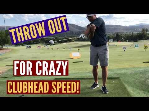 Throw the Club OUT For Crazy Clubhead Speed!