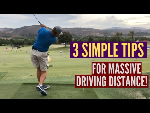 3 Simple Tips for Massive Driving Distance!