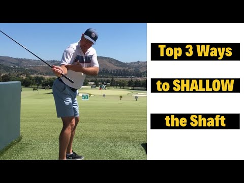 Top 3 Moves to Shallow Out Your Golf Swing and Hit Longer Drives!
