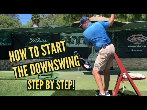 How to Start the Golf Downswing in Detail!