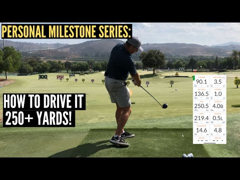 How to Drive A Golf Ball 250+ Yards