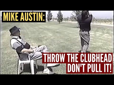 Throw the Clubhead Around a Pendulum!