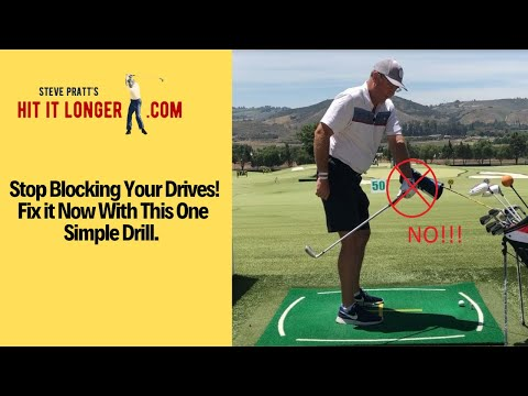 Stuck and Blocking Your Drives?  Fix It In 1 Easy Drill!