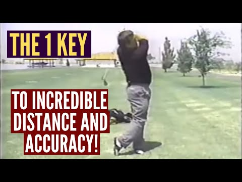 The 1 Key to Incredible Distance and Accuracy!