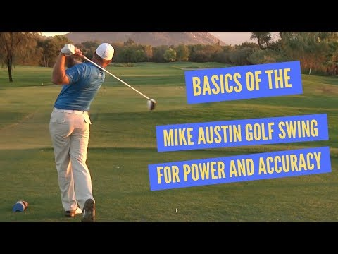 Golf Swing Basics for the Most Power and Accuracy