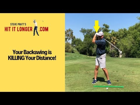 How Your Backswing Kills Your Driving Distance