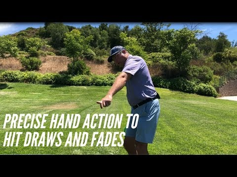 Mike Austin Detailed Hand Action for Hitting Draws and Fades