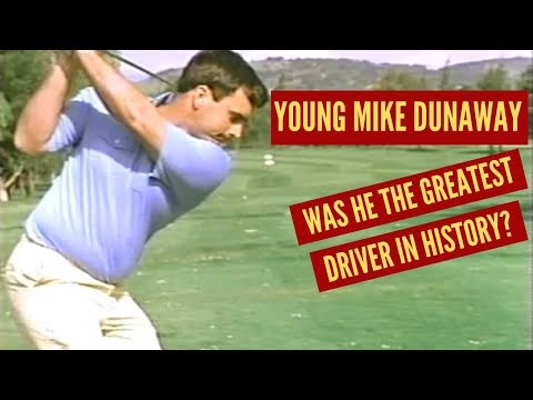 Young Mike Dunaway:  Greatest Driver in Golf History