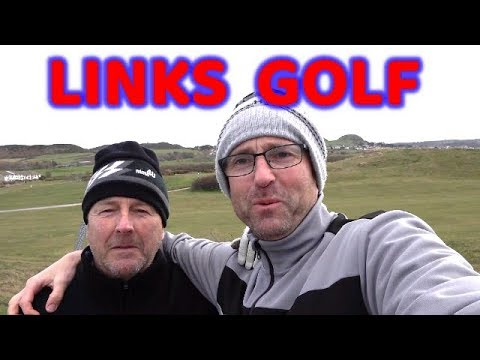 NORTH WALES GOLF LINKS COURSE VLOG -GOLF VLOGS UK