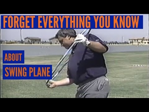 Getting Your Golf Swing on the Perfect Plane