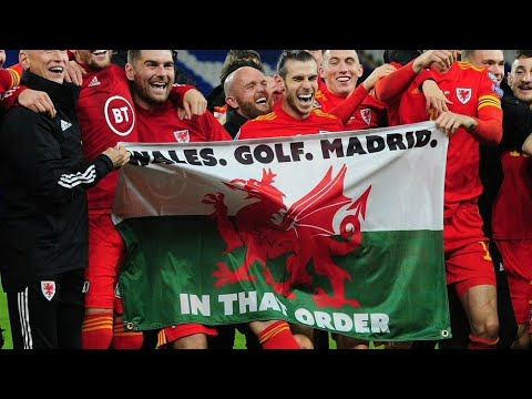 "Amazing reaction Gareth Bale ""Wales. Golf. Madrid. In that order "" after EURO qualification"