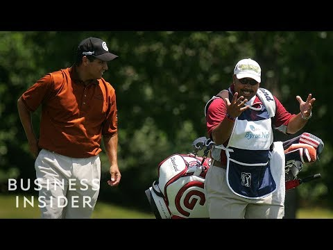 What It Takes To Be A PGA Tour Caddie