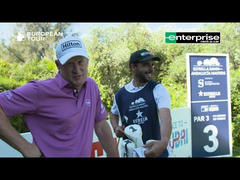 Being a European Tour Caddie | Enterprise Experiences | Ep.1