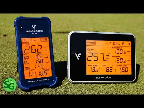 Swing Caddie SC 200 vs Swing Caddie SC 300 – Which One is Better?
