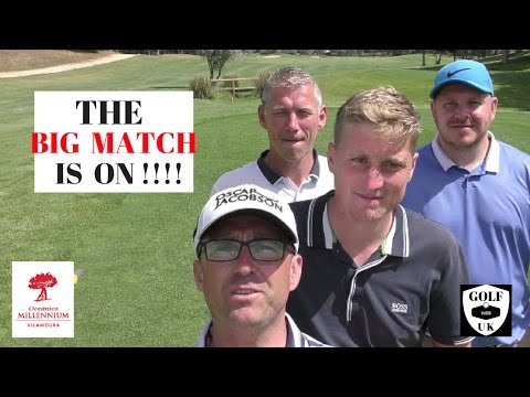 PORTUGAL  GOLF COURSE VLOG AT MILLENNIUM GOLF CLUB