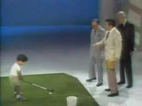 Tiger Woods At 2 Years Old