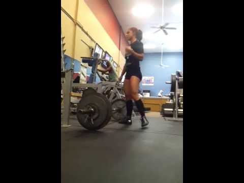 Charlie Brooke Deadlifts 215×3