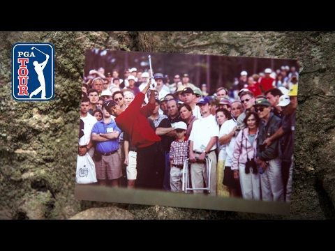 Tiger Woods' iconic 1997 Masters victory