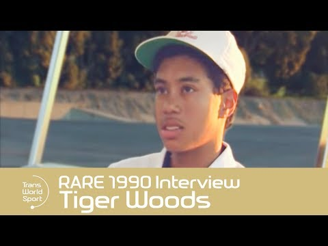Tiger Woods On Racism: Unedited RARE 1990 Interview