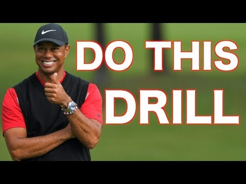 Tiger woods secret drill he did to give him the  ADVANTAGE