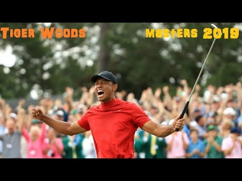 Tiger Woods remporte le Masters 2019 (Golf Masters 2019)