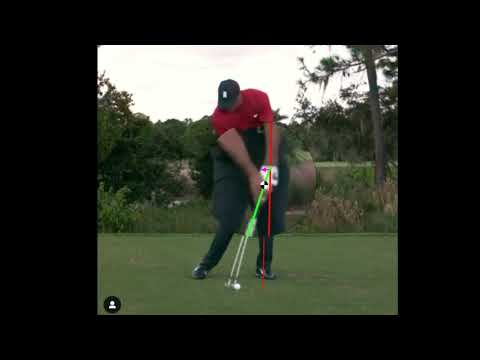 Tiger Woods Handle Position at Impact