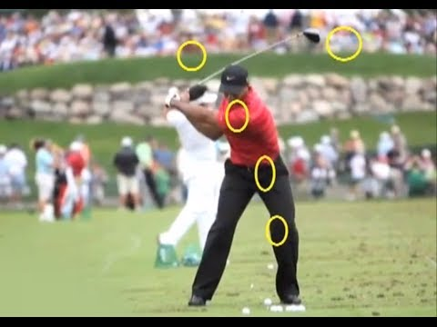 Tiger Woods Golf Swing | Catastrophic Sequence