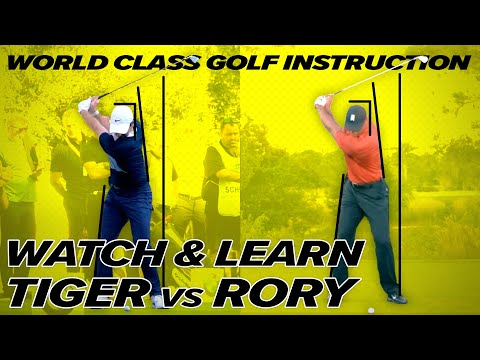 Tiger Woods Swing vs Rory Mcllroy Swing – Unbelievable Similarities – Craig Hanson Golf