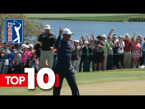 Top-10 all-time shots from the Arnold Palmer Invitational