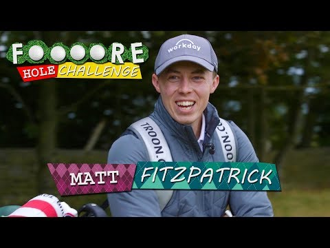 """TIGER WOODS GAVE ME SH*T!!!"" | MATT FITZPATRICK | FOOOORE HOLE CHALLENGE"