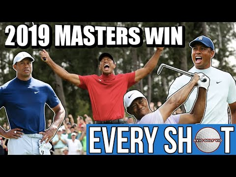 TIGER WOODS 2019 MASTERS WIN – EVERY SINGLE SHOT