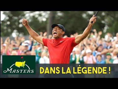 Tiger Woods Augusta 2019 – Le comeback du TIGRE !