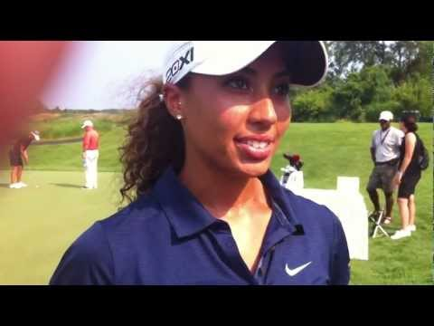Cheyenne Woods, the niece of Tiger Woods talks golf