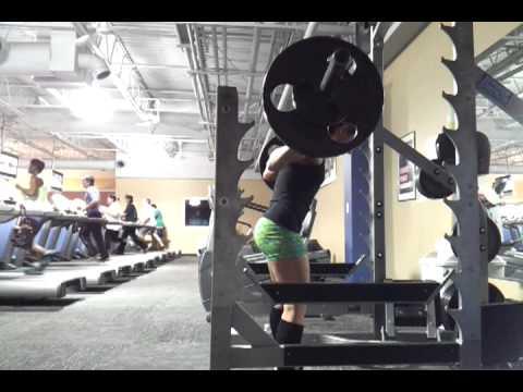 Charlie Brooke Squats clip