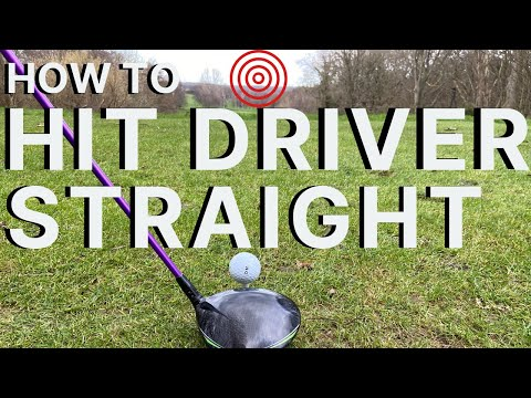 HOW TO HIT YOUR DRIVER STRAIGHT EVERY TIME – 3 of my best golf tips
