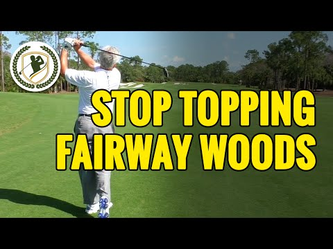 HOW TO STOP TOPPING YOUR FAIRWAY WOODS & HYBRIDS – HIT EM' CLEAN!