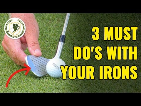 3 Must DO's With Your Irons (COPY THESE!)