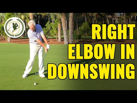 Right Elbow In Golf Downswing Drills (PERFECT POSITION!)