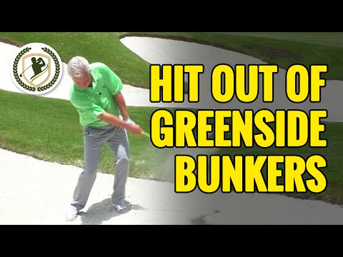 HOW TO HIT OUT OF GREENSIDE BUNKERS