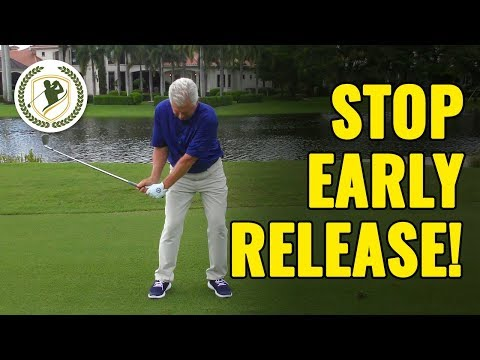 Golf Swing Drills To Stop Early Release (DO THESE!)