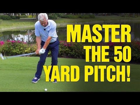 GOLF SHOTS:  How To MASTER The 50 60 Yard Pitch Shot (REVEALED!)